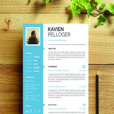 Купить  пофессиональные Resume Templates. Купить шаблон #69385 и создать сайт.
