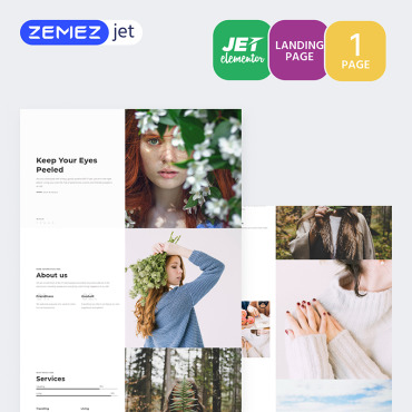 Купить  пофессиональные Elementor Templates. Купить шаблон #70132 и создать сайт.