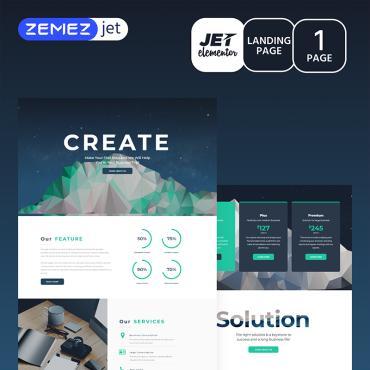 Купить  пофессиональные Elementor Templates. Купить шаблон #70147 и создать сайт.