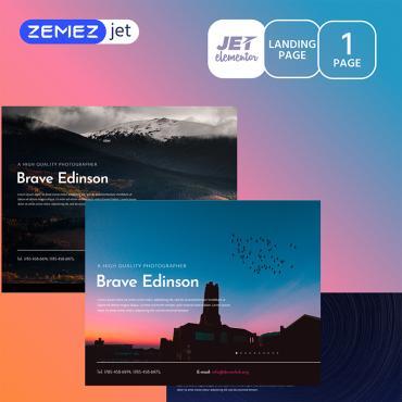 Купить  пофессиональные Elementor Templates. Купить шаблон #70173 и создать сайт.