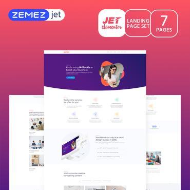 Купить  пофессиональные Elementor Templates. Купить шаблон #70195 и создать сайт.