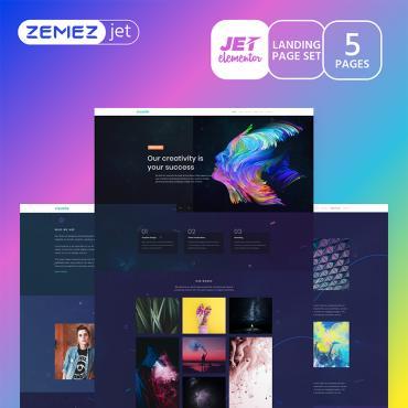 Купить  пофессиональные Elementor Templates. Купить шаблон #70196 и создать сайт.