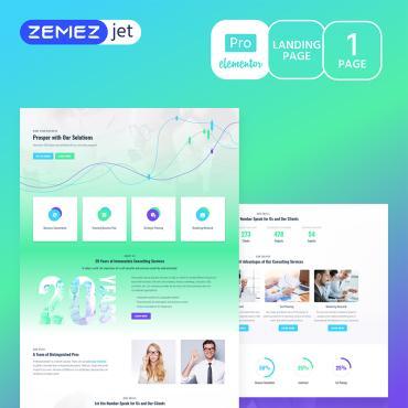 Купить  пофессиональные Elementor Templates. Купить шаблон #70216 и создать сайт.