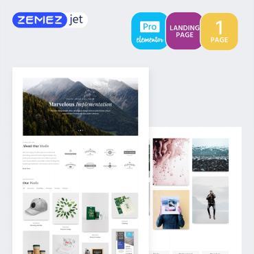 Купить  пофессиональные Elementor Templates. Купить шаблон #70218 и создать сайт.