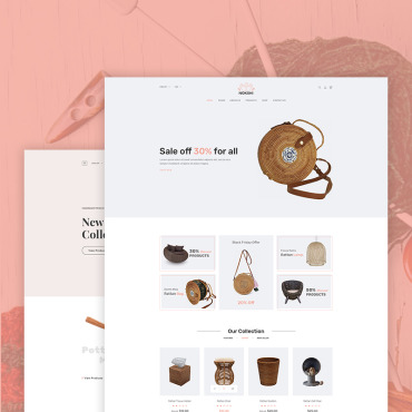 Купить  пофессиональные Shopify шаблоны. Купить шаблон #70255 и создать сайт.