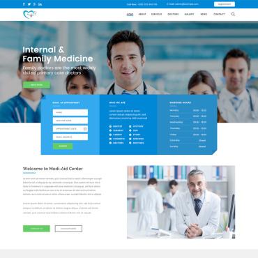 Plantillas espectaculares para crear una página web de Salud y Medicina