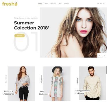Купить  пофессиональные WooCommerce шаблоны. Купить шаблон #71857 и создать сайт.