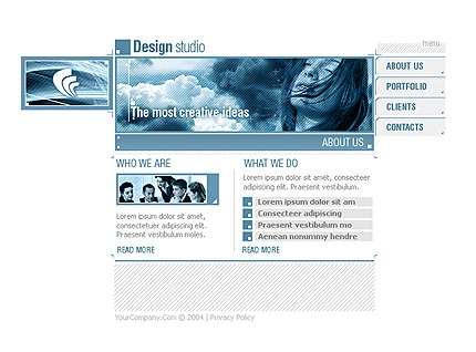Website Template #7409