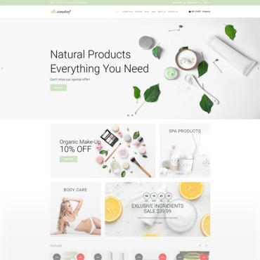 Купить  пофессиональные Shopify шаблоны. Купить шаблон #74154 и создать сайт.
