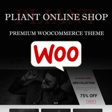 Купить  пофессиональные WooCommerce шаблоны. Купить шаблон #74333 и создать сайт.
