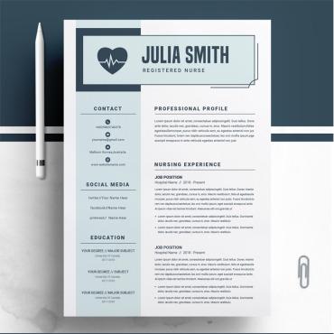 Купить  пофессиональные Resume Templates. Купить шаблон #74354 и создать сайт.