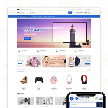 Купить  пофессиональные OpenCart шаблоны. Купить шаблон #74830 и создать сайт.
