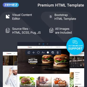 Купить  пофессиональные Bootstrap и html шаблоны. Купить шаблон #74835 и создать сайт.