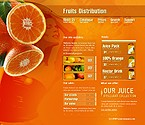 Template #7522  Keywords: fruits distribution oranges juice pack nectar drink collection catalogue apple strawberry lemon peach banana grape pear kiwi prices delivery sales services fresh