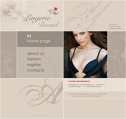 Website Template #7562
