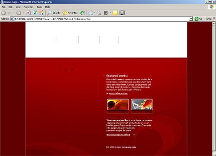 Website Template #7597