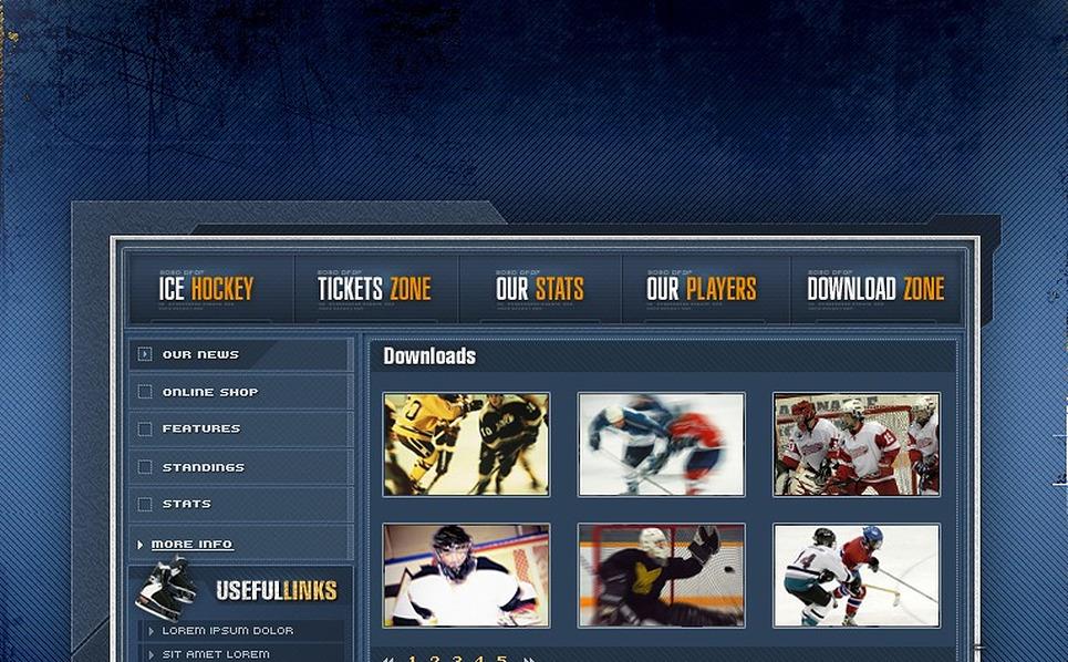 Hockey Flash Template New Screenshots BIG