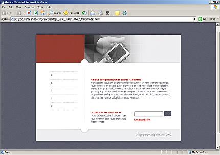 Website Template #7905