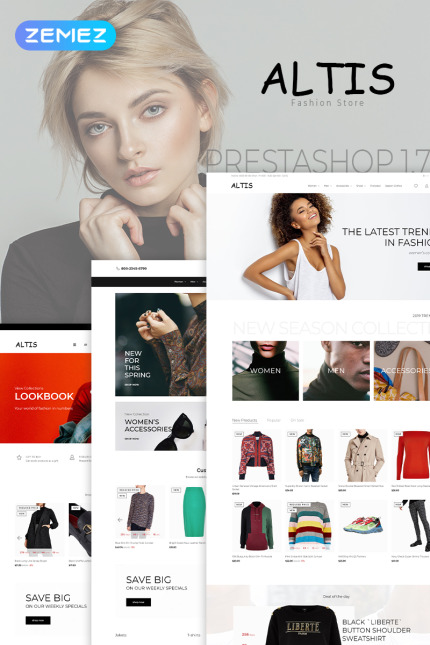 PrestaShop шаблоны