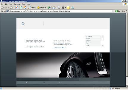 Website Template #8410