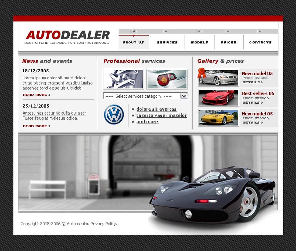car dealer flash template web design templates website templates download car dealer flash. Black Bedroom Furniture Sets. Home Design Ideas