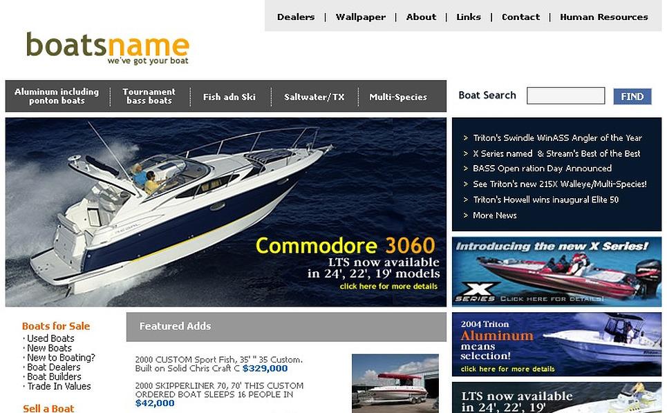 Yachting SWiSH Template New Screenshots BIG