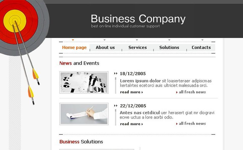 Business Website Template New Screenshots BIG