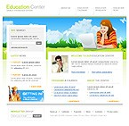 Website template #8479 by Monet