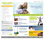 Website template #8508 by Di