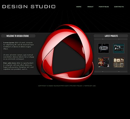 Website Template #8511