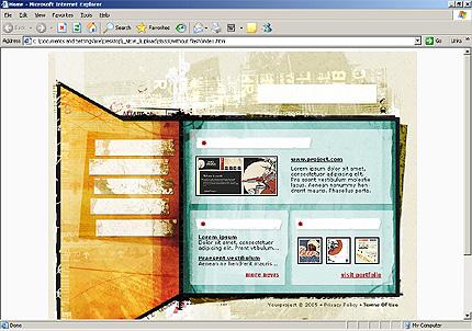 Website Template #8533