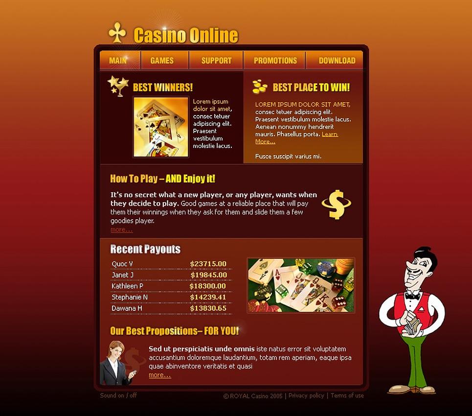online casino script