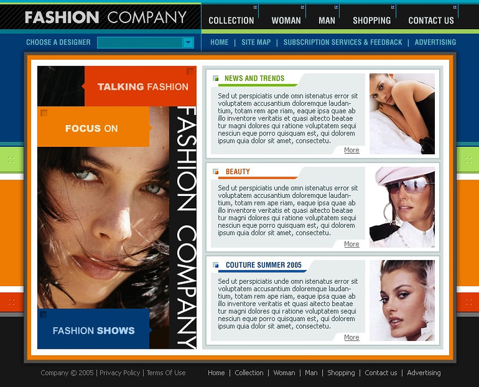 Fashion Flash Template New Screenshots BIG