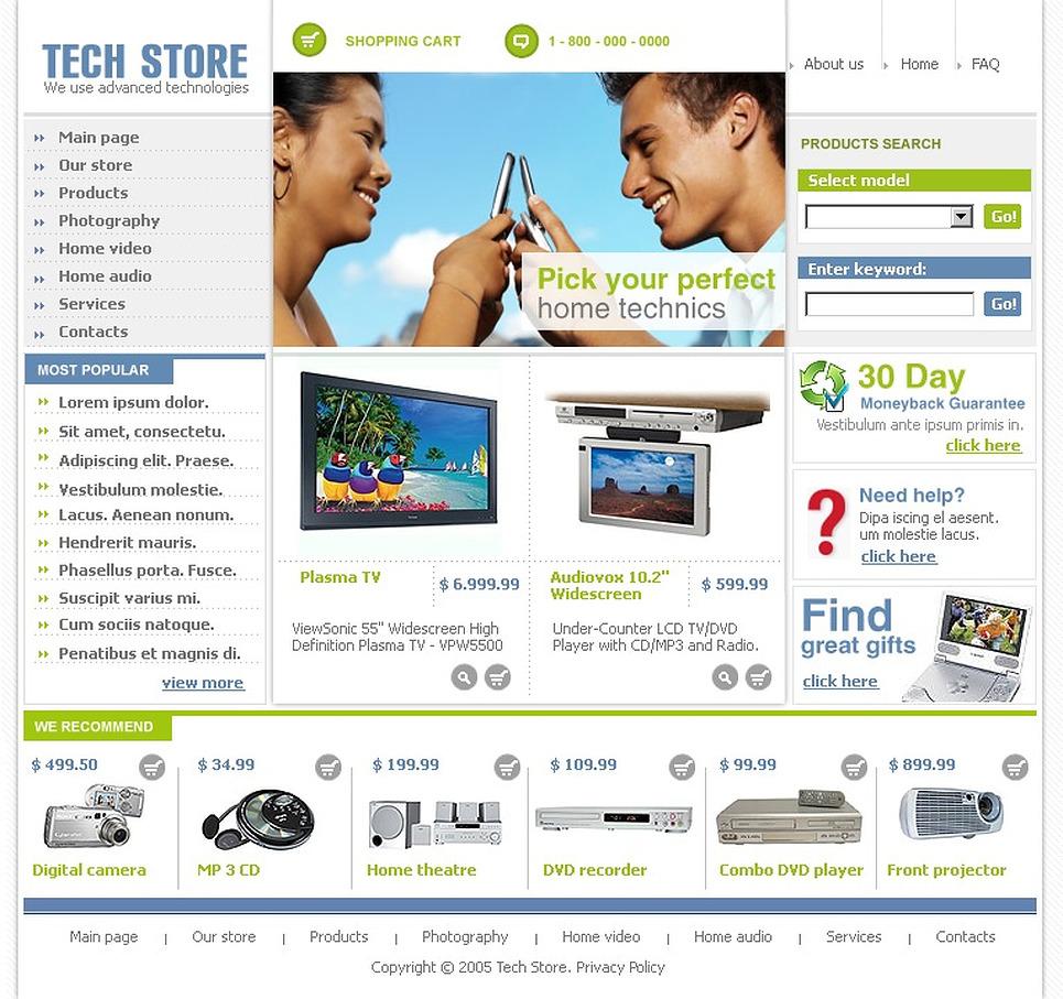 electronics website template web design templates website templates download electronics. Black Bedroom Furniture Sets. Home Design Ideas
