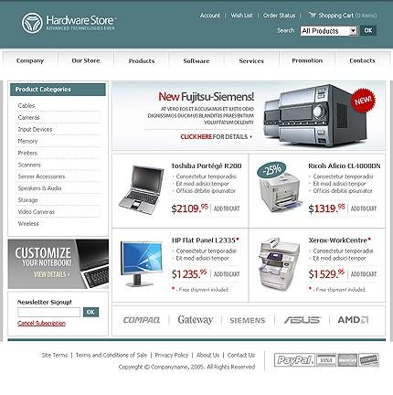 Website Template #8788