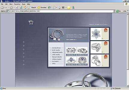 Website Template #8805