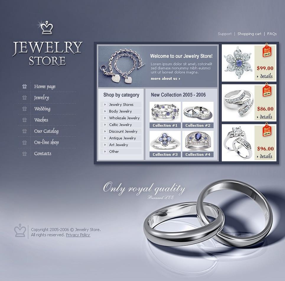 Jewelry Flash Template New Screenshots BIG
