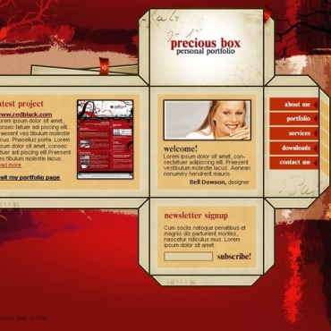 Personal website free website templates for free download about (4 ...