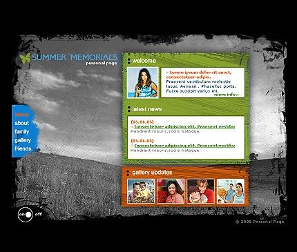 Website Template #8904