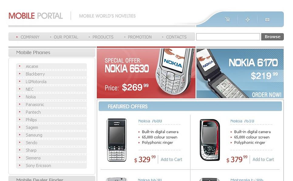 Mobile Store SWiSH Template New Screenshots BIG