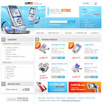 osCommerce template #9006 by Monet