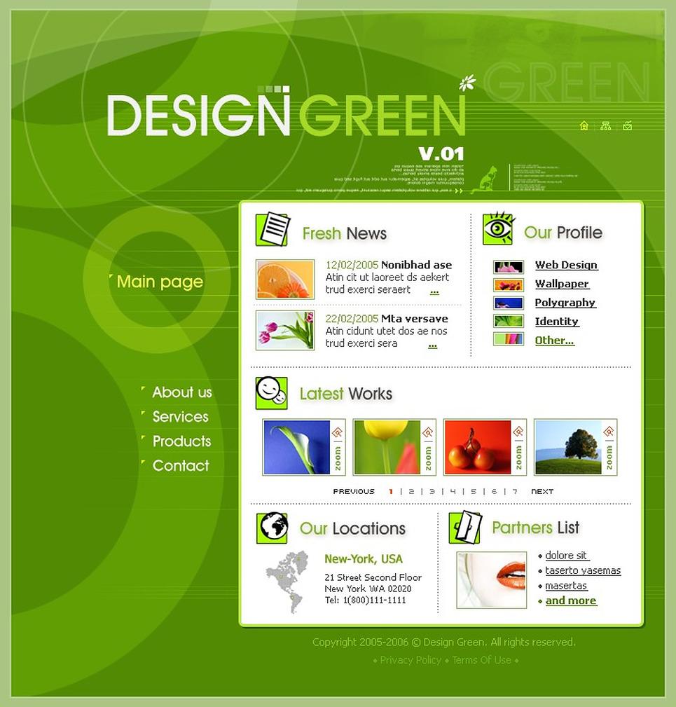 Design Studio Flash Template New Screenshots BIG