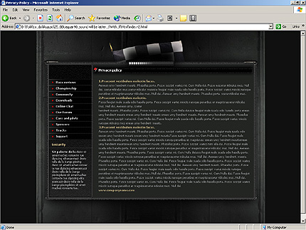 Website Template #9510