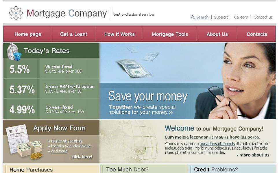 Mortgage Website Template New Screenshots BIG