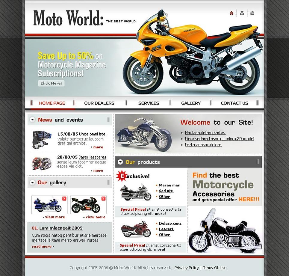 bike shop website template web design templates website templates download bike shop website. Black Bedroom Furniture Sets. Home Design Ideas