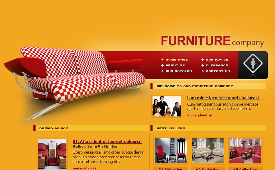 Furniture Flash Template New Screenshots BIG