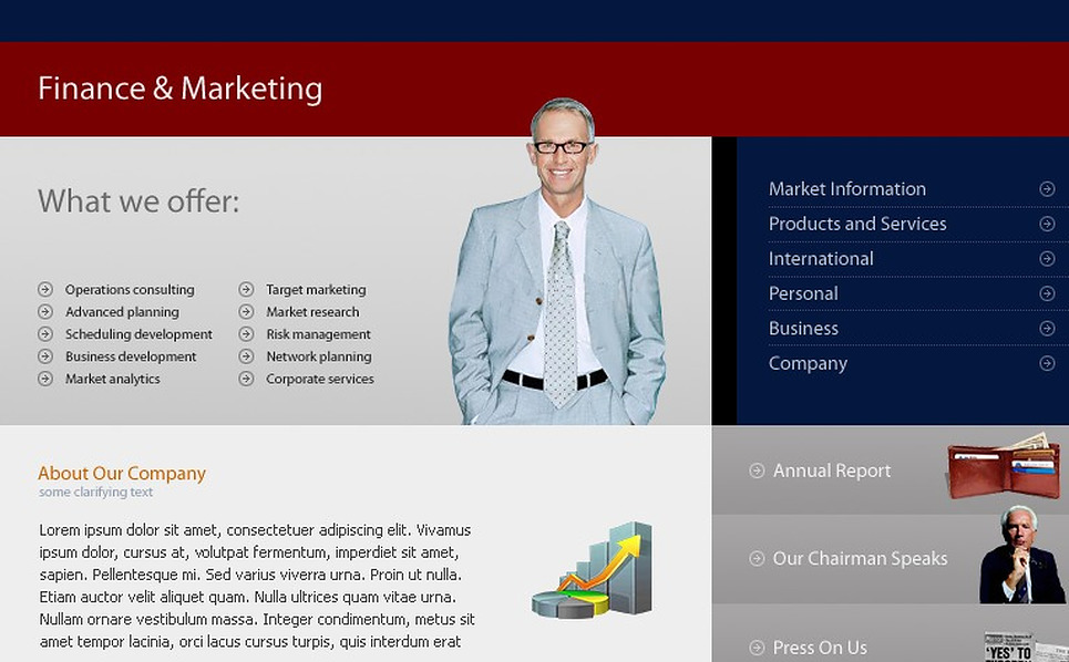 Marketing Agency Website Template New Screenshots BIG
