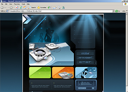 Website Template #9859