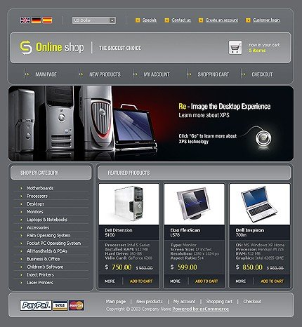 Website Template #9972