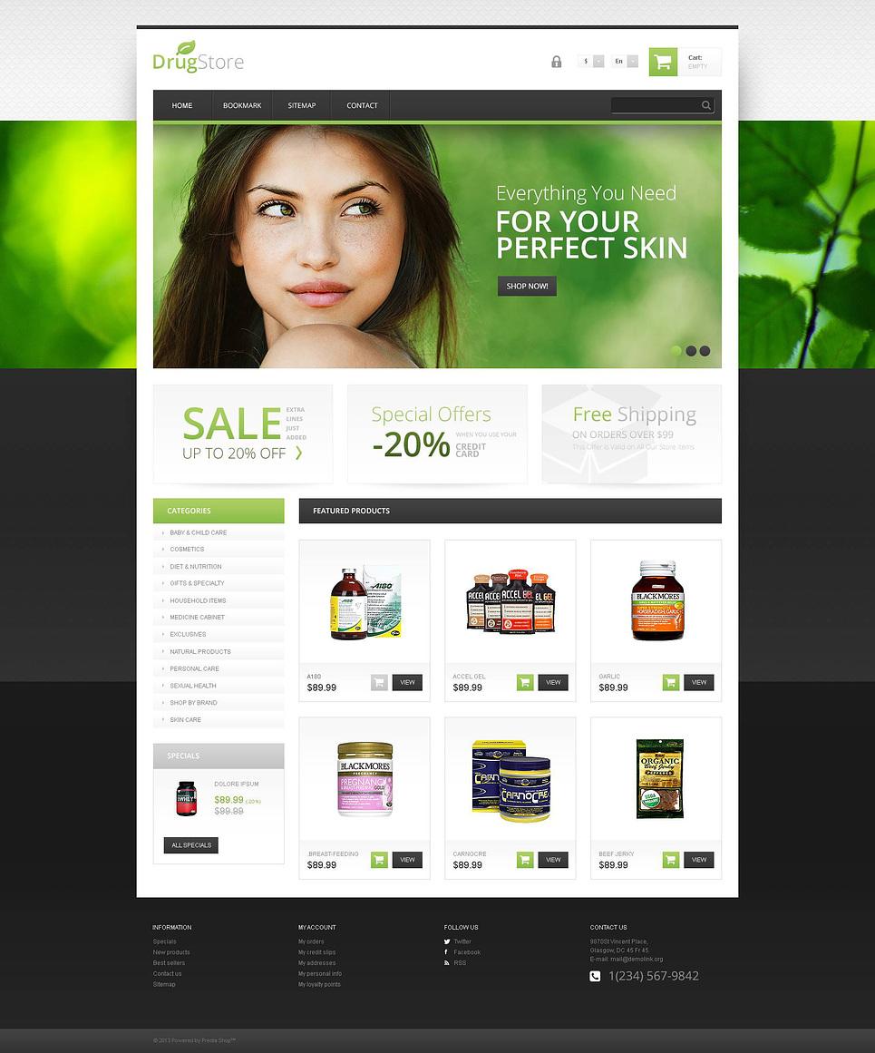 15 of the best ecommerce templates for web design responsive drugstore prestashop theme maxwellsz